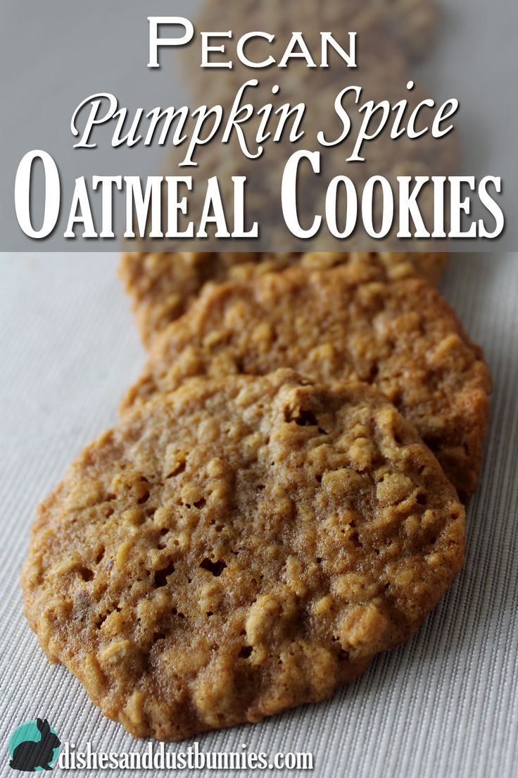 ... of old fashioned oats and pecans with pumpkin spice are splendid