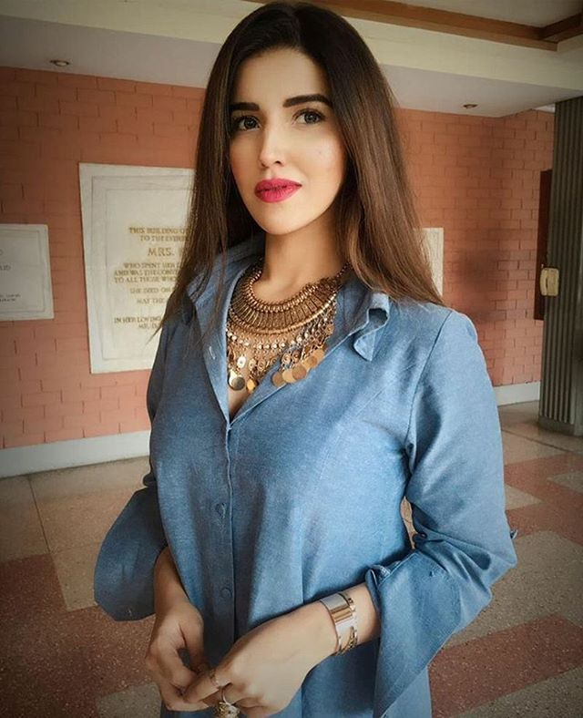 Hareem Farooq During The Promotion Of Dobaraphirse  -6728