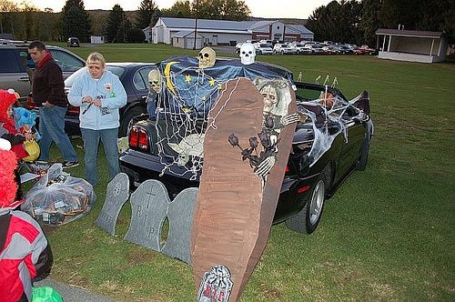 19 best Fall / Thanksgiving images on Pinterest Thanksgiving - how to decorate your car for halloween