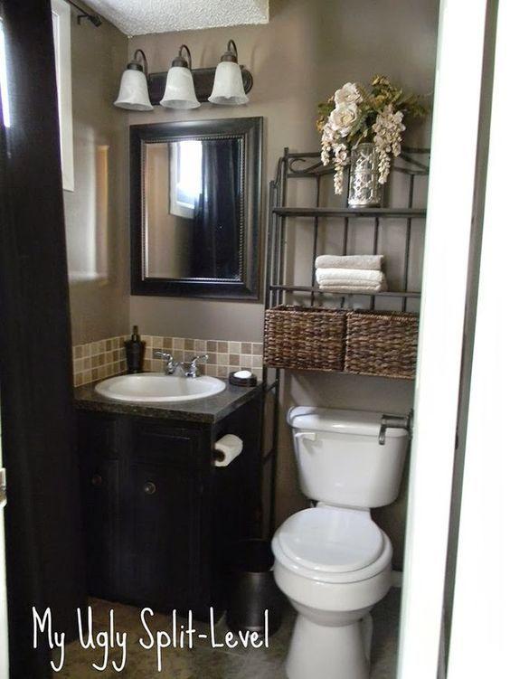 Inspiración Baños pequeños llenos de GRANDES soluciones!!!   Decorar tu casa es facilisimo.com: