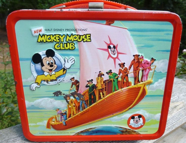 Mickey Mouse Club - Aladdin Lunch Box~~
