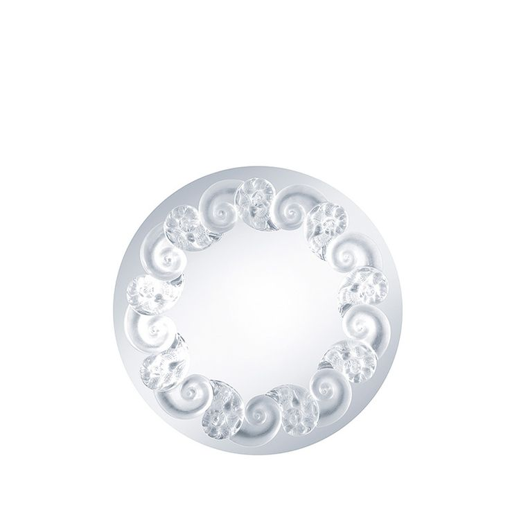 Tianlong mirror, Lalique mirror, discover all Lalique mirrors with crystal elements at lalique.com