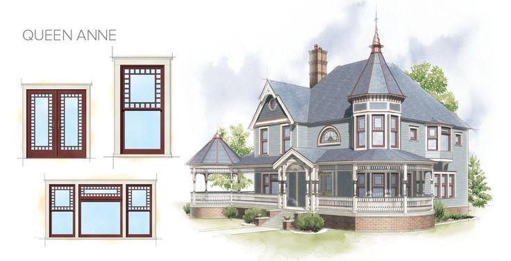 1000 images about denver windows on pinterest windows for Queen anne windows