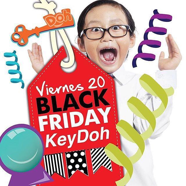 En #KeyDoh se adelantan al BLACK FRIDAY!  Entradas de niños: 2 por el precio de 1 ‼️ 10% de descuento en sus paquetes de cumpleaños ‼️ 💲💲NO PIERDAS ESTA OPORTUNIDAD 💲💲 : @keydohpty