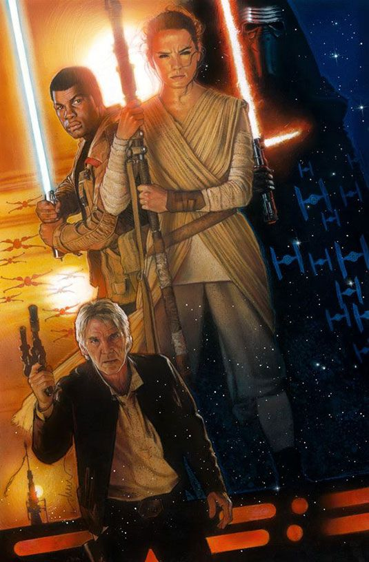 "struzan force awakens. ""Artists don't grow old, they just keep on learning,"""