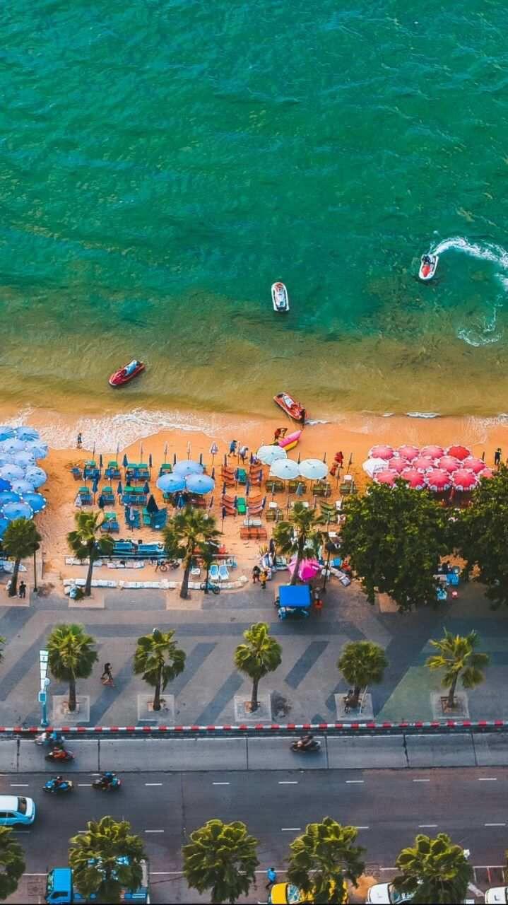 Miami Beach Fun Sky View Iphone Wallpaper In 2019 Nature