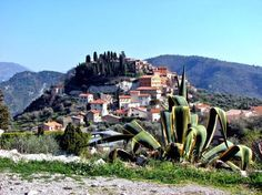 Coaraze (Photo Emile Taillefer) : à deux pas du parc national du Mercantour, le village médiéval sorti tout droit d'un conte de Noël est bai...
