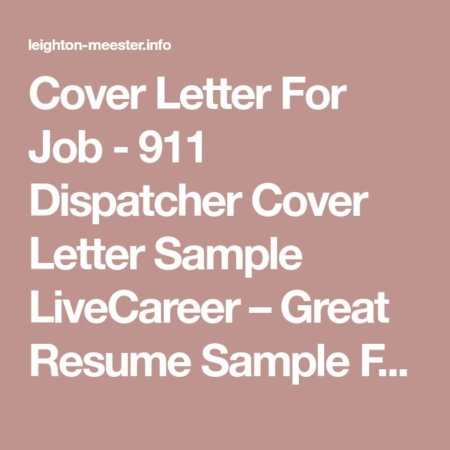 best 25  cover letter for job ideas on pinterest