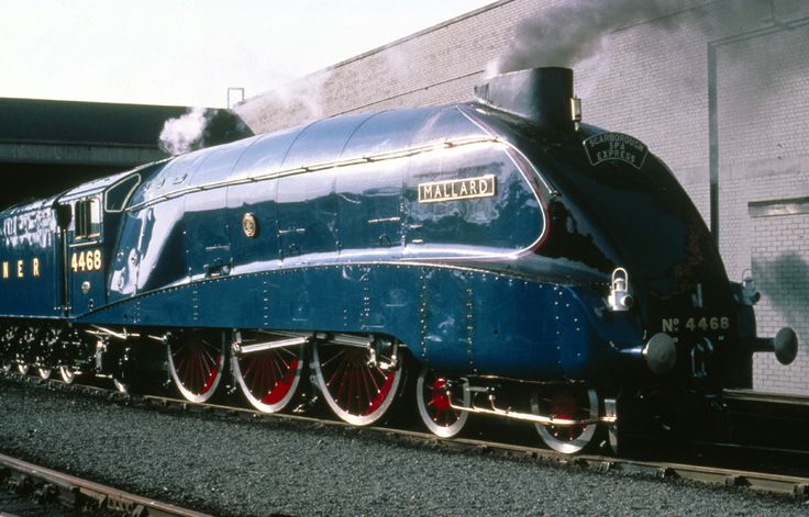 I don't think there's a more beautiful train than The Mallard