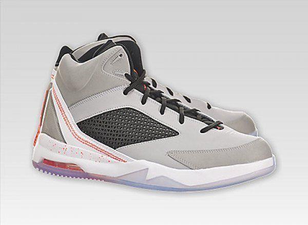 Jordan Basketball Shoes 12 Nike Athletic Flight Air Remix Grey Black  679680-060