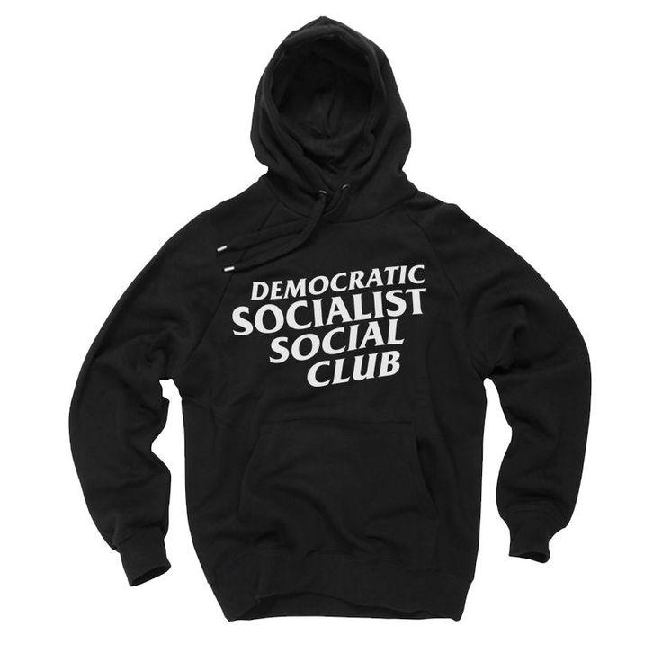 Democratic Socialist Social Club Hoodie