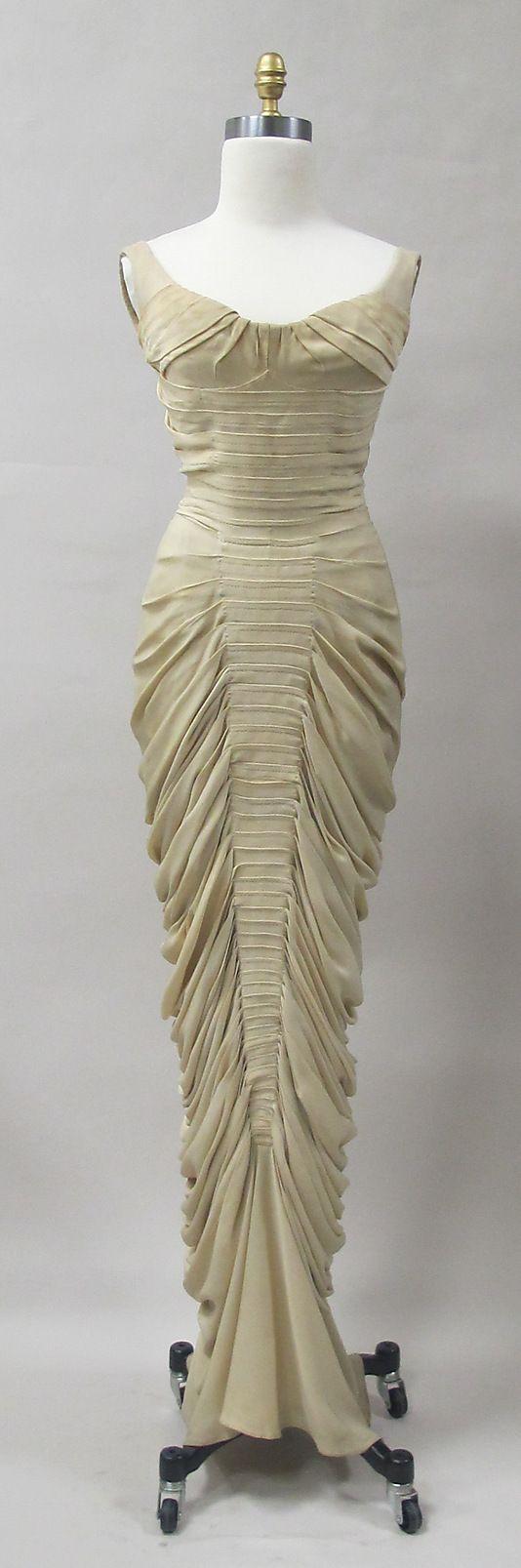 Charles James Evening Dress, c 1955