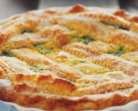 Alimentazione Sana & Cucina Naturale: Crostata dolce di erbette