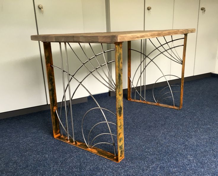175 best images about handmade by blechmacher on pinterest for Uniq tisch thors design