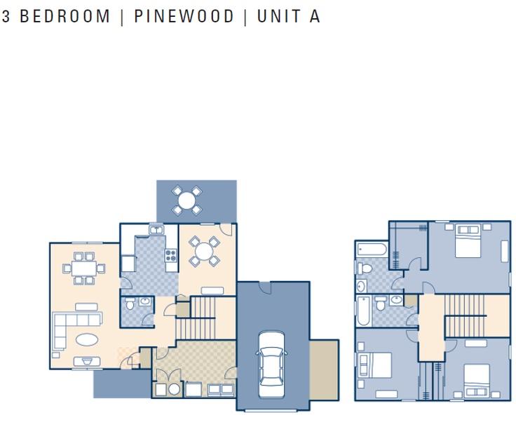 Ncbc Gulfport Pinewood Neighborhood 3 Bedroom Type A