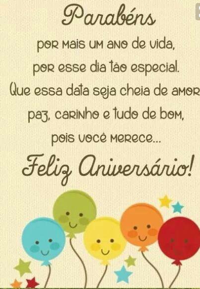 Fabuloso 154 best Feliz Aniversário images on Pinterest | Birthdays, Happy  CZ65