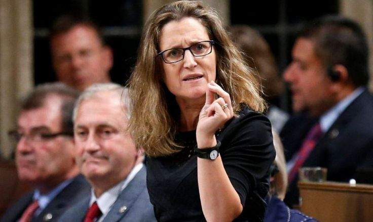 Chrystia Freeland: Kievs Minister of Foreign Affairs in Ottawa via No Political Correctness http://ift.tt/eA8V8J  strategic-culture.org - On Tuesday 10 January 2017 Canadian Prime Minister Justin Trudeau shuffled his cabinet after only 14 months in office. The most newsworthy change was  http://ift.tt/2i1HB3X nopoliticalcorrectness.com