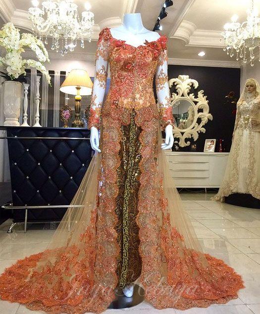 wedding dress kebaya modern cendrawasih 2016