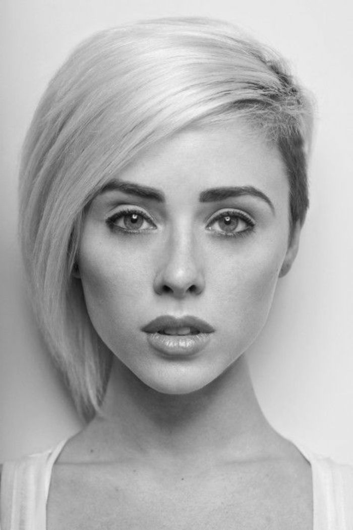 Best 25 coiffure courte femme ideas on pinterest coupe courte femme tendance coupe courte - Blond platine femme ...