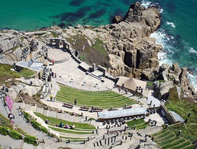 The Minack Theatre, Cornwall,  England