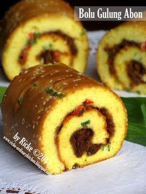 Just My Ordinary Kitchen...: BOLU GULUNG ABON