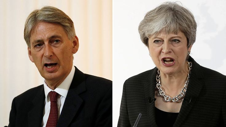 Theresa May and Philip Hammond could be on the brink of an intra-party war, after the PM control of final 2017 budget briefings.