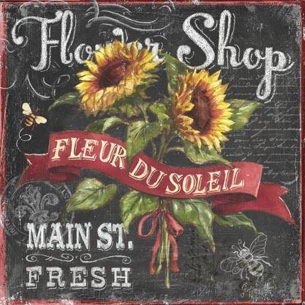 Chalkboard Art - Geoff Allen - Flower Shop
