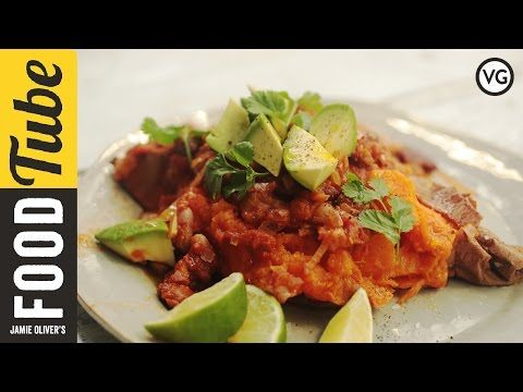 Mixed Bean Chilli with Avocado & Sweet Potato | Tim Shieff