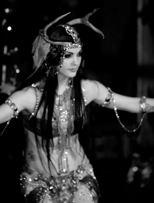 Zoe Jakes sacred headdress for  bellydance
