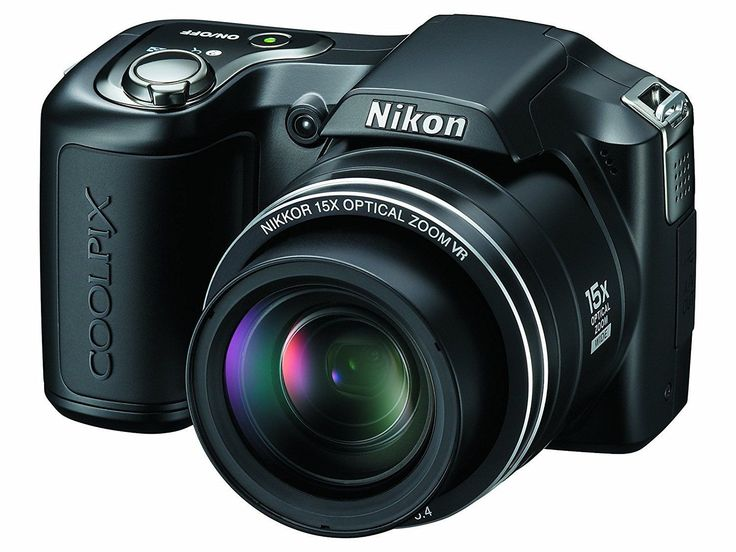 Digital Camera Nikon Coolpix L100 10 MegaPixel 15 X Optical Zoom Black