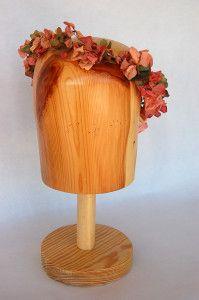 Tiara de flor preservada Luisa Gala