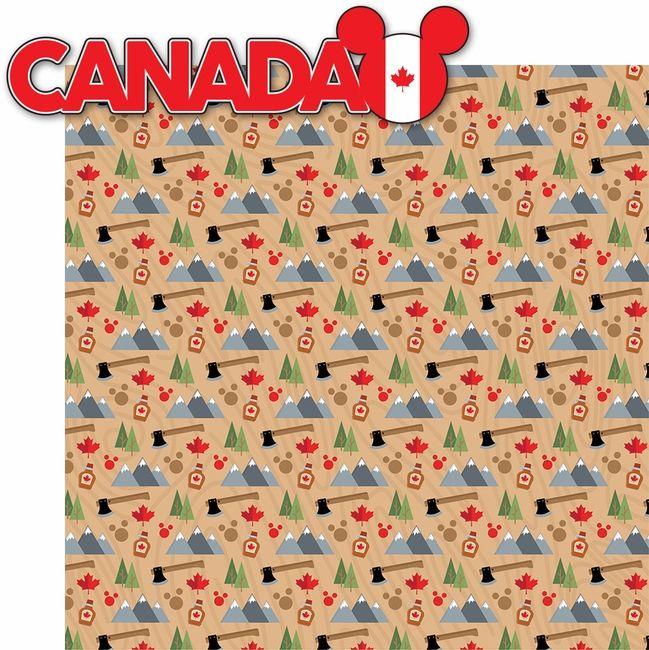 World Showcase: Canada 2 Piece Laser Die Cut Kit