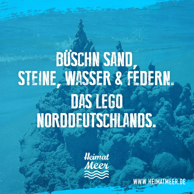 Sand, Steine & Wasser. Das Lego Norddeutschlands. >>