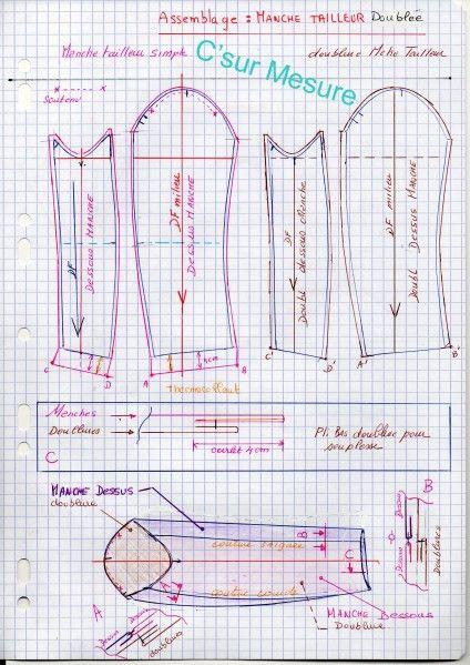 Assez Les 773 meilleures images du tableau Techniques de couture sur  VT64