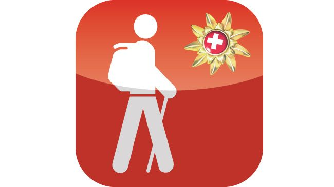 The Swiss Hike iPhone App by Switzerland Tourism enables you to call up 32 attractive hikes offline. Each hike comes with a general description, details of the climbs and descents, duration and difficulty together with the relevant swisstopo map extract on a scale of 1:25,000. The iPhone application also features practical information on restaurants and places to stay en route.