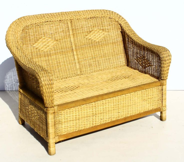 Condition:  Used  Two Seater Rattan Couch  size: 1300 L x 700 W x 930 H  R1500  Call 076 706 4700  Tel 021 - 558 7546  www.furnicape.co.za  0201
