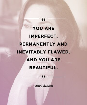 Motivational quote from Amy Bloom to inspire others!