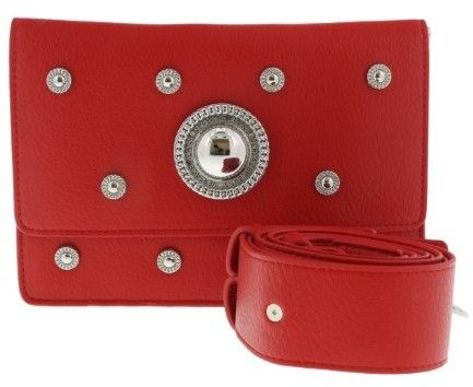 Versace EE1VQBBR6 E500 Red Crossbody Bag