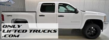 2012 Chevy Silverado 1500 Crew Cab LT Lifted Truck For Sale  $33,980