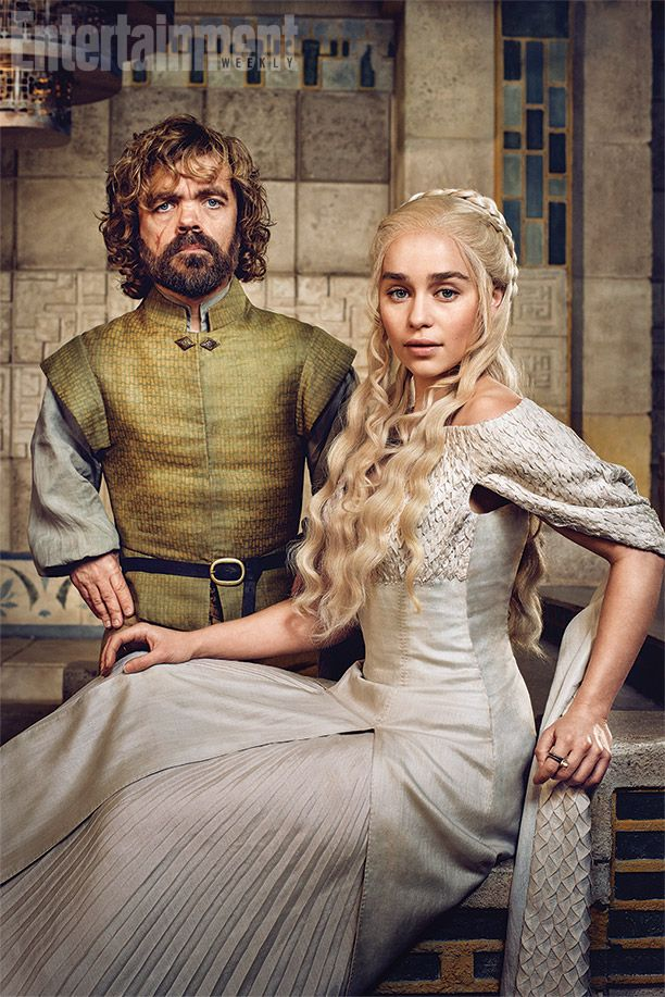 She's commanded armies and dragons. She's sparred with slave masters and horse lords. But what Emilia Clarke had to do on the Game of Thrones set last October left her unusually nervous: Sit and have a polite conversation. Sound easy? Not when the other actor is Clarke's Emmy-winning co-star Peter Dinklage. This was the first time in the show's five-year history that the two stars have ever shared a scene.