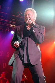 He raised money for cancer by singing in the streets Tom Jones (singer) - Wikipedia, the free encyclopedia
