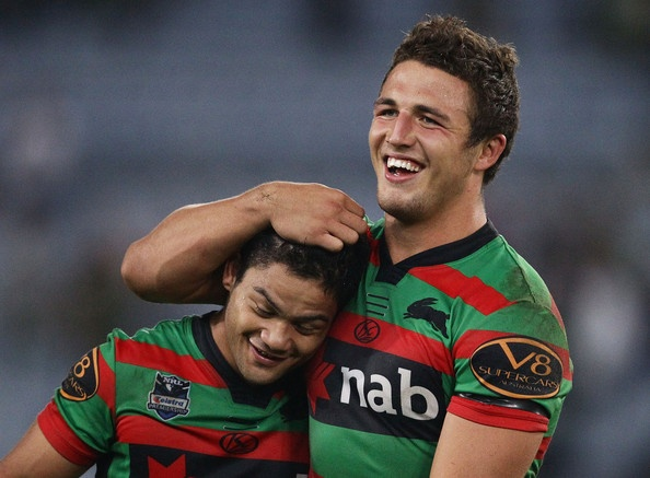 Issac Luke & Sam Burgess