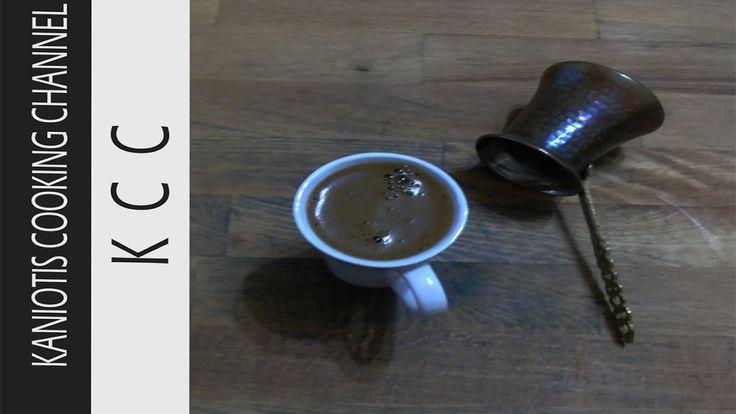 Coffee Lover By KCC #1 - Ελληνικός Καφές (Greek Coffee)