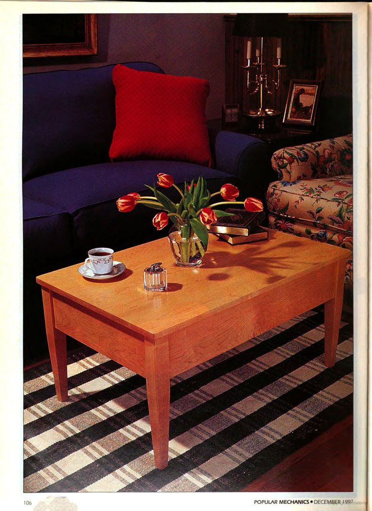 brave coffee table woodworking projects chart
