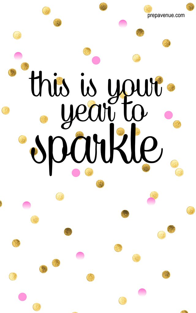Words to help with your new year's resolutions...just in time. #SparkleOn www.lmawby.com | inspiring words found on: www.PrepAvenue.com