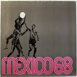 Mexico Olympic Games 1968 - original vintage poster listed on AntikBar.co.uk