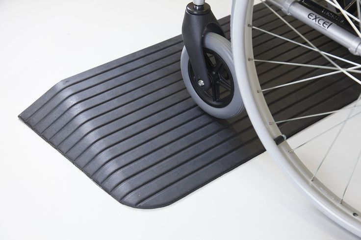 Rubber Threshold Wheelchair Ramps - The Ramp People