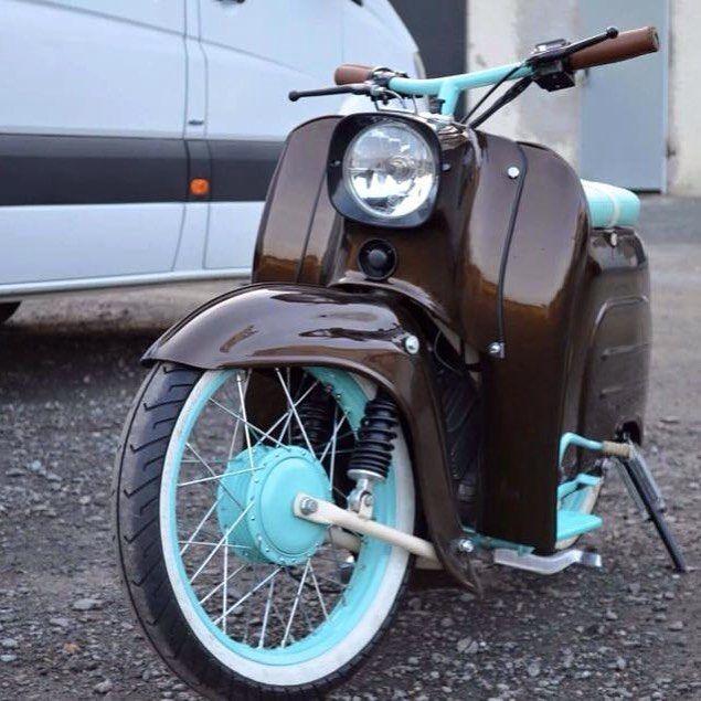 Geile Farbkombi!#bavariancustomcrew #miasancustom #bcc #custom #custombike #custommade #custombuilt  - bavariancustomcrew