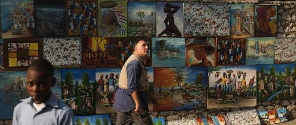 Jose Andres in Haiti