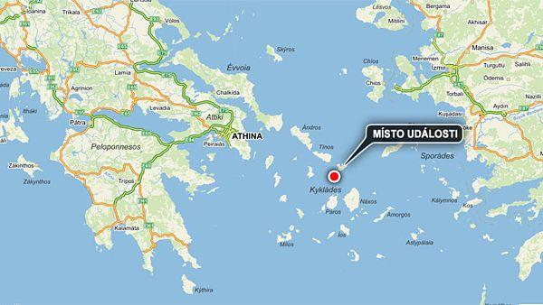 Moře u Řecka ukrývá malé Pompeje
